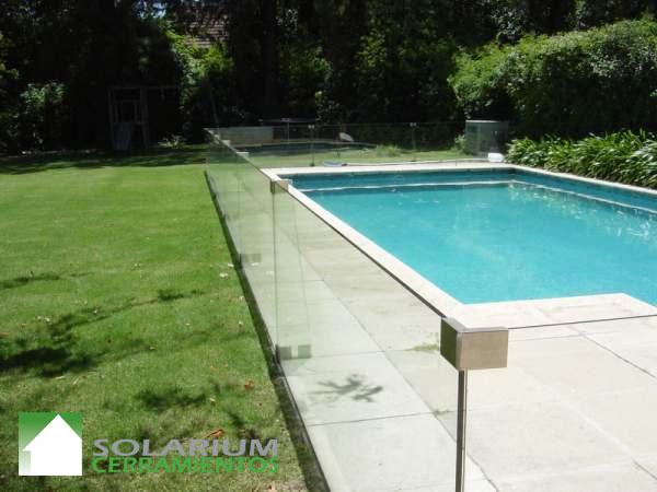 Solarium cerramientos defensas de piscinas - Cristales para piscinas ...