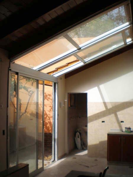 Solarium cerramientos techos transparentes for Cubiertas transparentes para techos